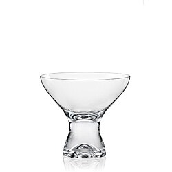 Red Vanilla Samba Martini/ Dessert Glasses (Set of 6)