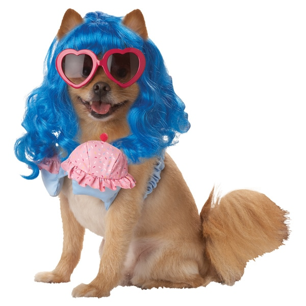 Pup-A-Razzi Cupcake Girl Dog Halloween Costume