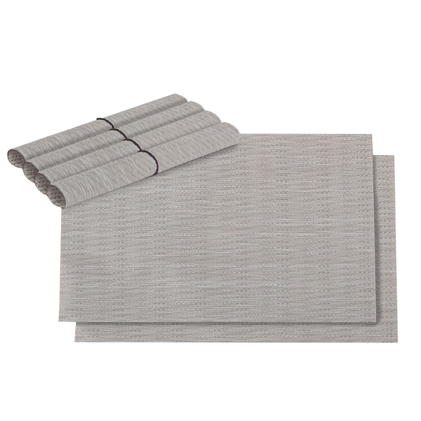 LaMont Home Aiden Taupe Placemat (Set of 6)