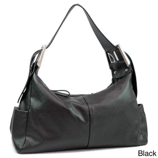 Dasein Dual Compartment Hobo Bag