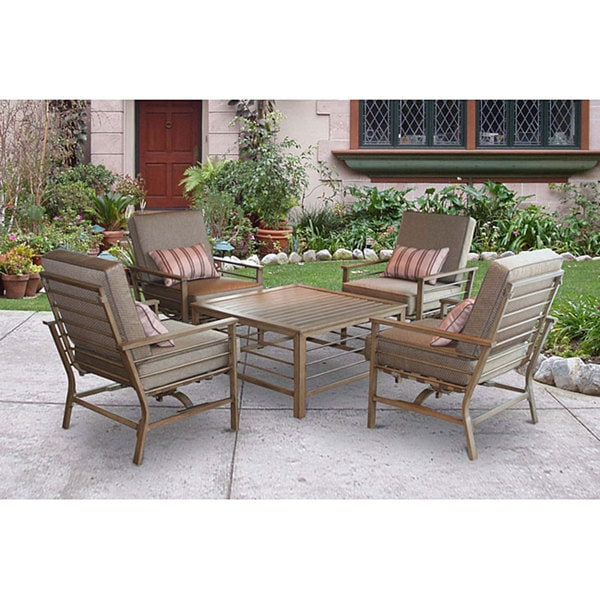 5 Piece Patio Conversation Set Free Shipping Today