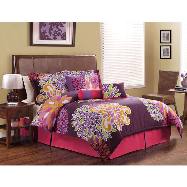Flower Show Floral 7-piece Comforter Set