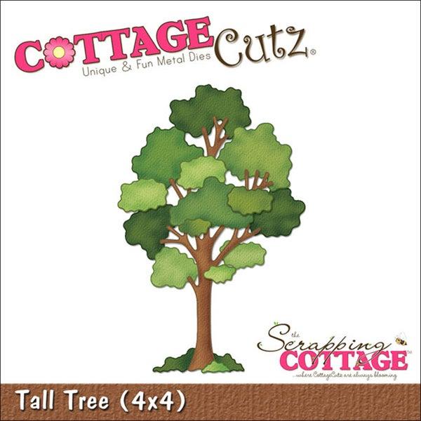 "CottageCutz Die 4""X4""-Tall Tree"