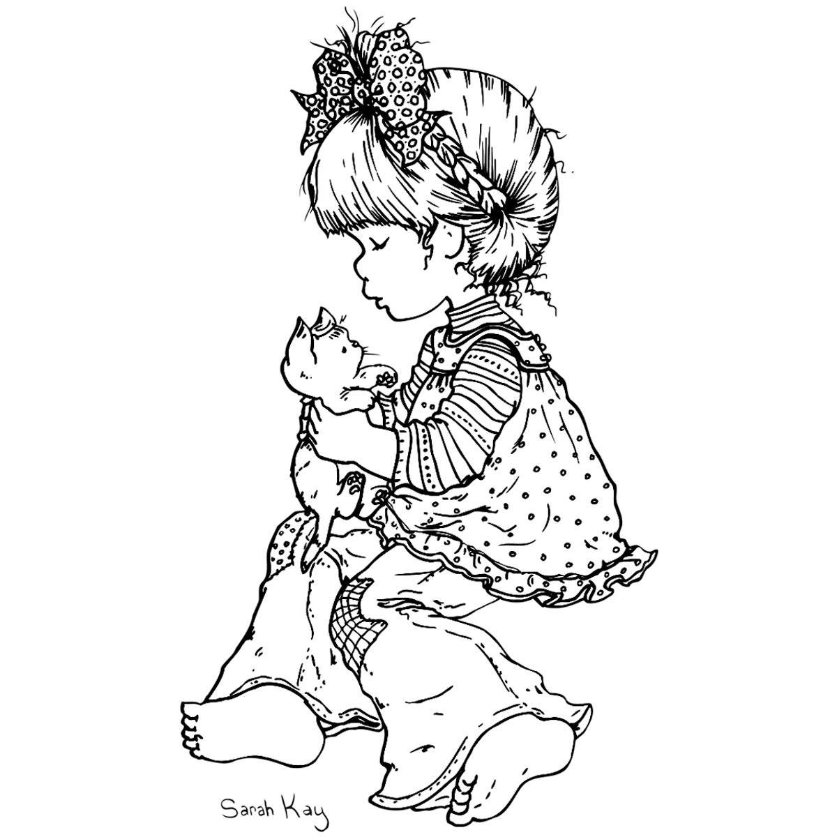 Coloring Pages Sarah Key Printable For Kids And