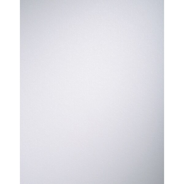 """Core'dinations Pearl Cardstock Pads 8.5x11"""" 25/Pkg-Pearly White"""