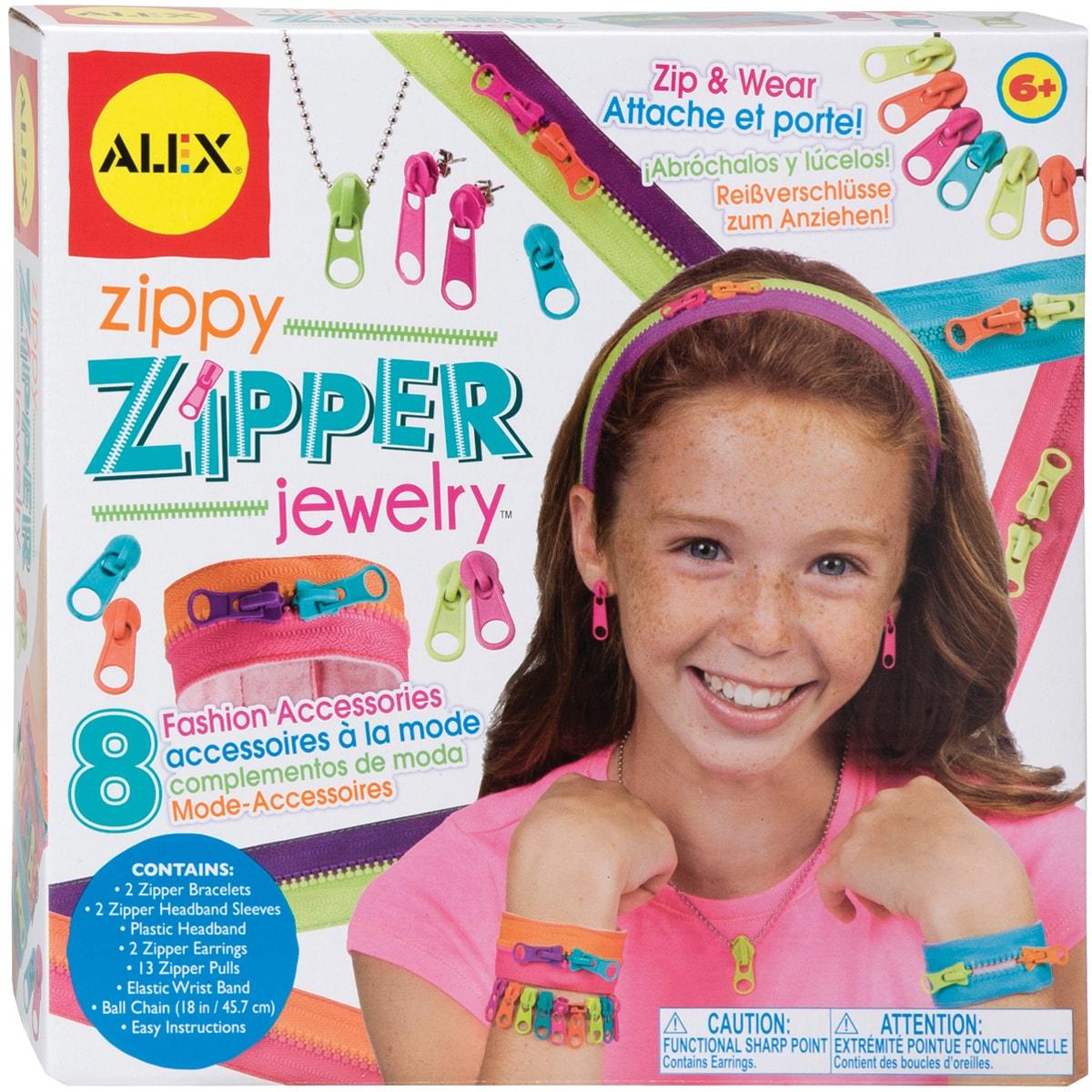 Zippy Zipper Jewelry Kit