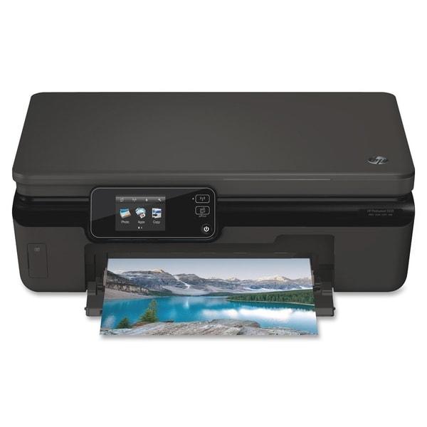 HP Photosmart 5520 Inkjet Multifunction Printer - Color - Plain Paper