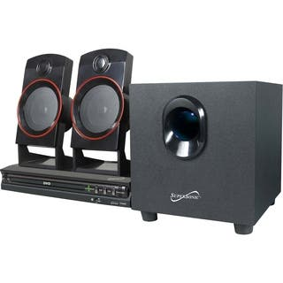 Supersonic SC-35HT 2.1 Home Theater System - 11 W RMS - DVD Player|https://ak1.ostkcdn.com/images/products/6774689/P14314440.jpg?impolicy=medium