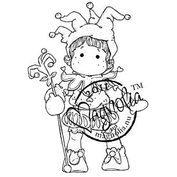 Princes & Princesses Cling Stamp-Jester Tilda