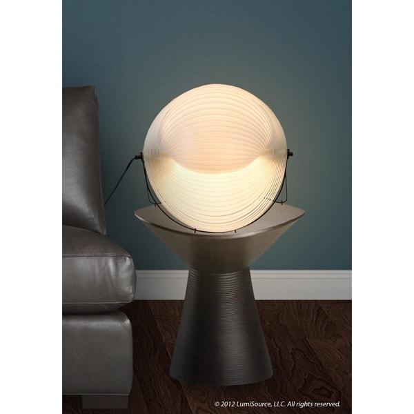 Modern Shell Table Lamp White