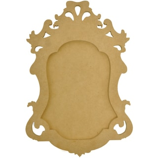 "Beyond The Page MDF Small Ornate Frame-14.25""X10""X.5"""
