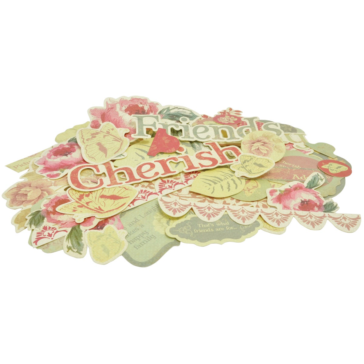 Magnolia Grove Collectables Cardstock Die-Cuts 46/Pkg