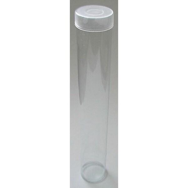 SRM Standard Clear Plastic Seven-inch Wand Tube 12/Pkg- W/Cap