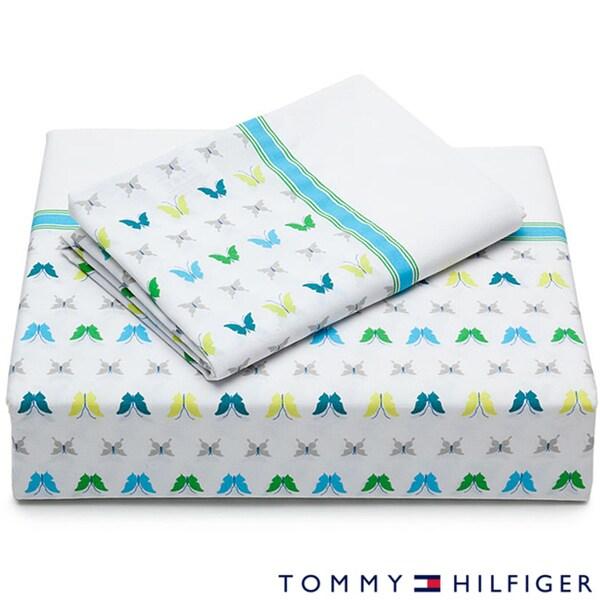 Tommy Hilfiger Celina Lake Cotton Sheet Set