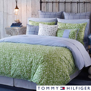 Shop Tommy Hilfiger Hydrangea Duvet Cover Set Blue Green