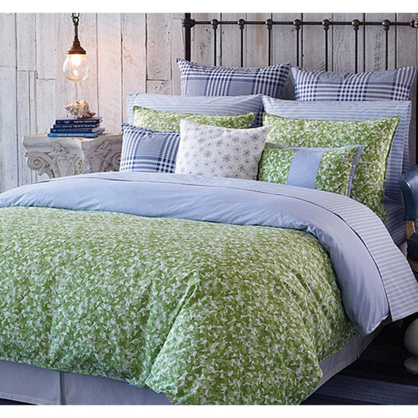 Tommy Hilfiger Hydrangea Petals 3 Piece Comforter Set
