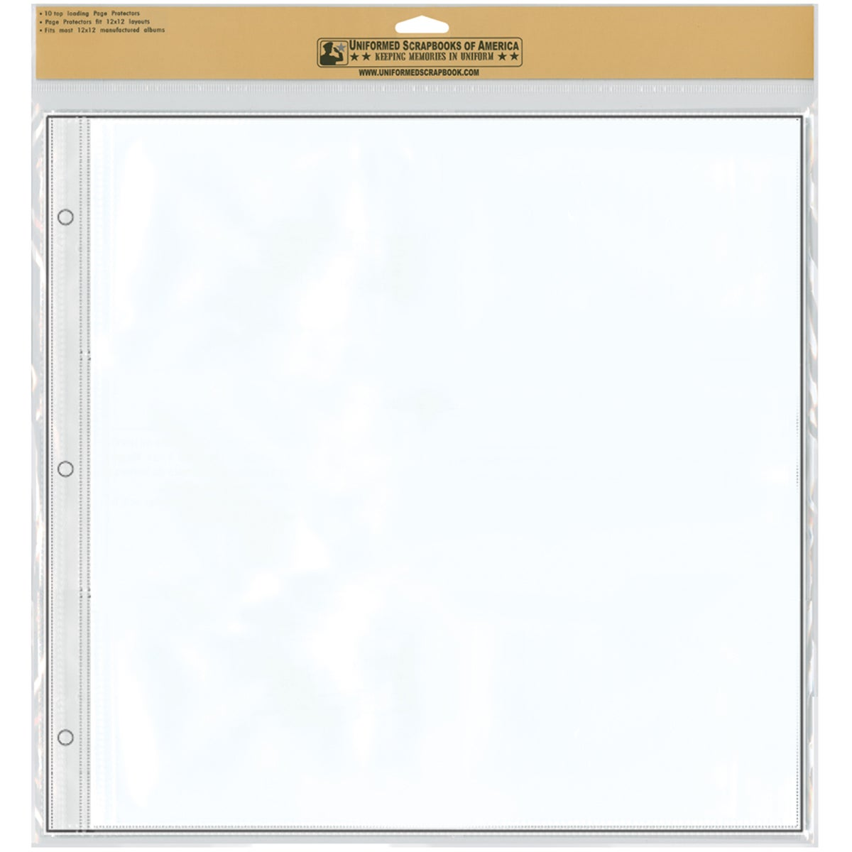 "12""X12"" Keepsake Refill Pages 10/Pkg"