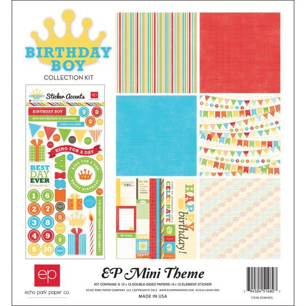 """Birthday Boy Collection Kit 12""""X12"""""""