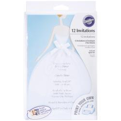 Invitation Kit 12/Pkg-Bride