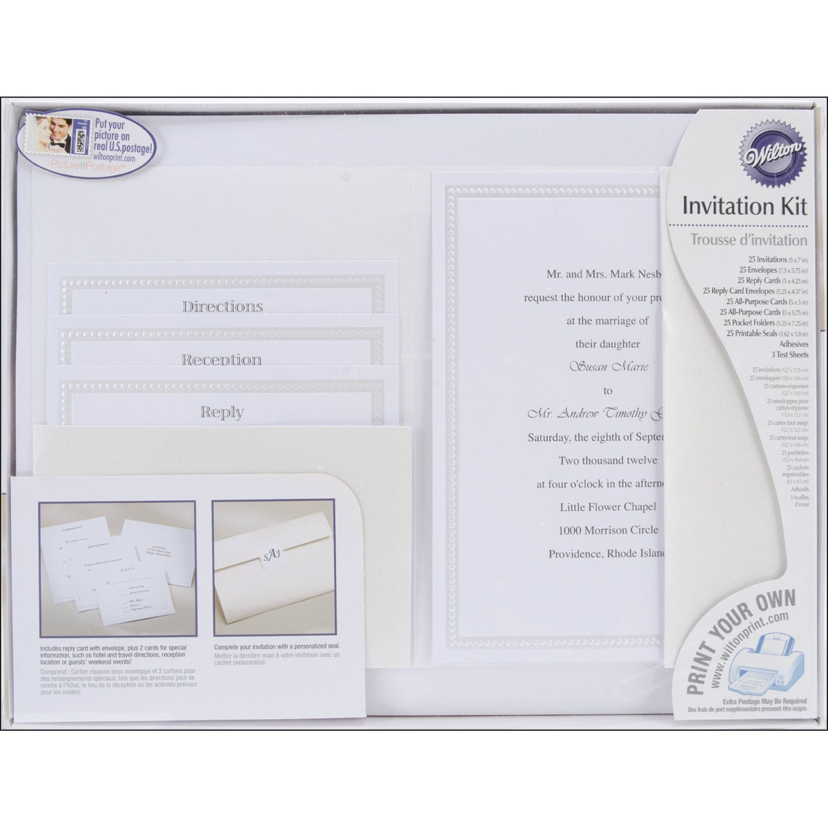 Shop Pocket Invitation Kit 24/Pkg-String of Pearls - Free Shipping On Orders Over $45 - Overstock - 6775336