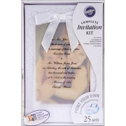 Invitation Kit 25/Pkg-The Two Of Us