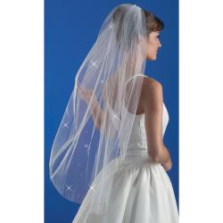 "Wedding Veil 38""-Rhinestone"