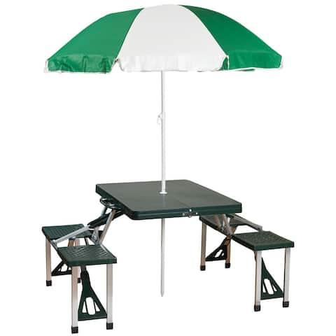 Picnic Table / Umbrella Combo
