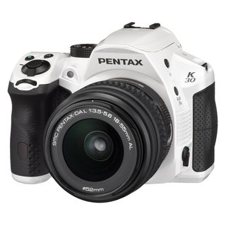 Pentax K-30 16.3 Megapixel Digital SLR Camera with Lens - 18 mm - 55