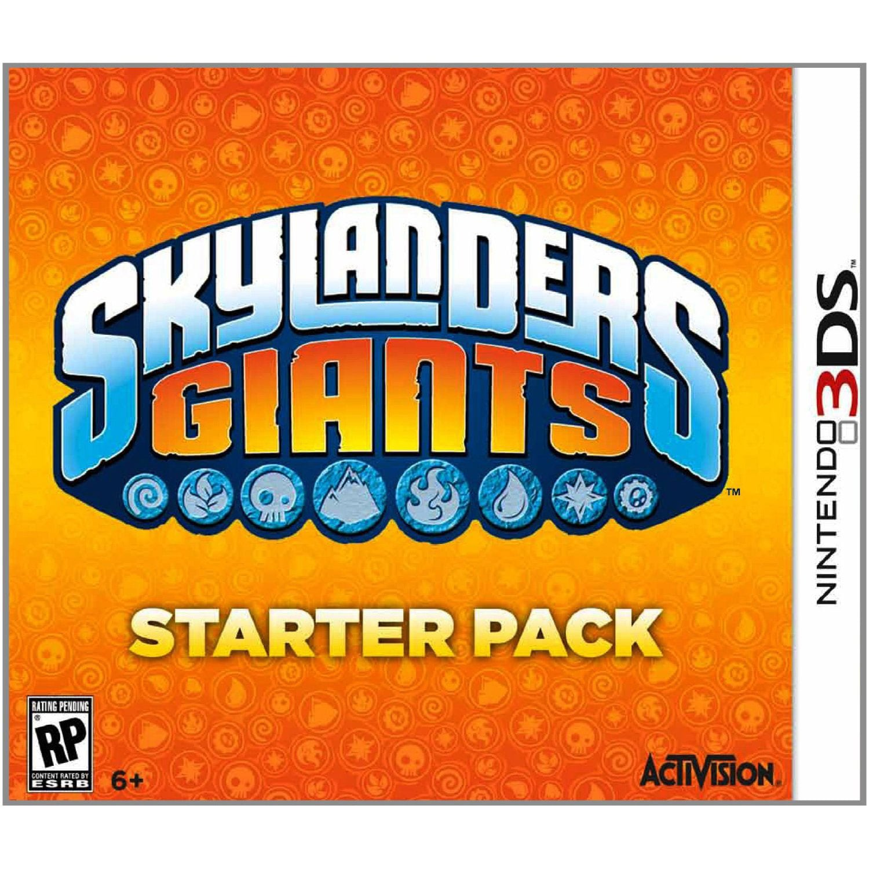 NinDS 3DS - Skylanders: Giants Starter Pack