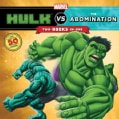 Hulk Vs. the Abomination / Hulk Vs. Wolverine: Two-books-in-One With over 50 Stickers (Paperback)