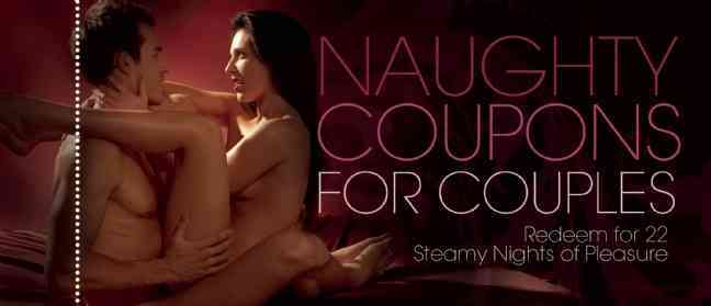 Naughty Coupons for Couples: Redeem for 23 Steamy Nights of Pleasure (Paperback)