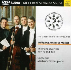 Markus Schirmer - Mozart: Gaede Trio Series: Vol. 8: Piano Quartet