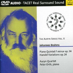 Peter Orth - Auryn Series: Vol. 10: Brahms Quintet