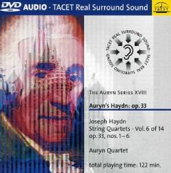 Auryn Quartet - Auryn Series: Vol. 18: Haydn Op. 33