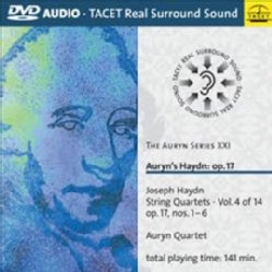 Auryn Quartet - Auryn Series: Vol. 21: Haydn Op. 17