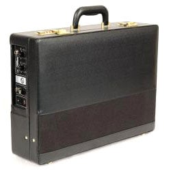 PA-in-a-Case Lectern with Handheld and Lapel-clip Style Microphones