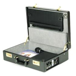 PA-in-a-Case Lectern with Handheld and Lapel-clip Style Microphones - Thumbnail 2