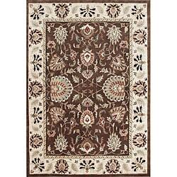 Alliyah Handmade Ivory New Zealand Blend Wool Rug (9' x 12')