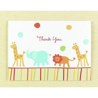 Hortense B. Hewitt Jungle Animals Thank You Cards (Set of 25)