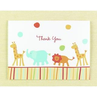 Hortense B. Hewitt Jungle Animals Thank You Cards (Set of 25)|https://ak1.ostkcdn.com/images/products/6777439/P14316729.jpg?impolicy=medium