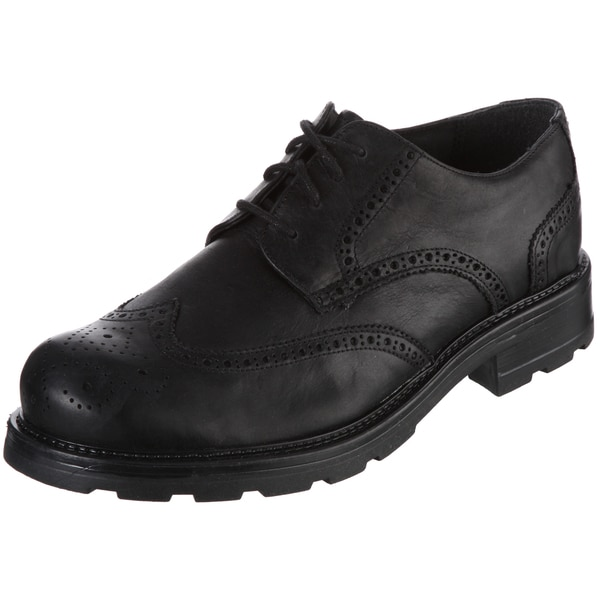 GBX Men's Black Lace-up Oxfords