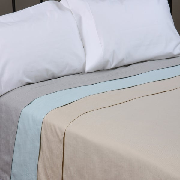 Cotton / Linen Textured Blanket