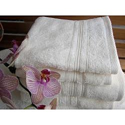 Charisma Ivory Cream Premium Hygro Cotton 12-piece Towel Set