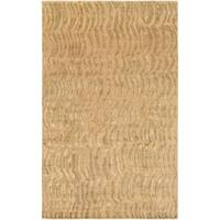 Hand-knotted Multicolored Vilas Abstract Design Wool Area Rug - 8' X 11'