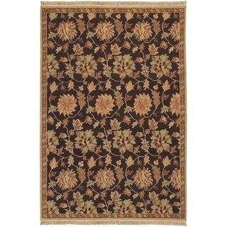 Hand-knotted Multicolored Bristol New Zealand Wool Area Rug - 9' x 12'/Surplus