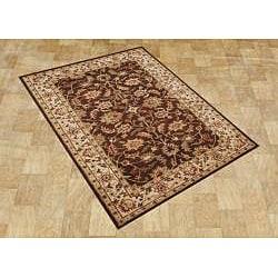 Alliyah Handmade Brown 100 Percent New Zealand Wool Rug (8' x 10') - Thumbnail 2