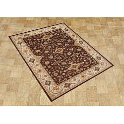 Alliyah Handmade Chocolate Brown New Zealand Blend Wool Rug - Thumbnail 2