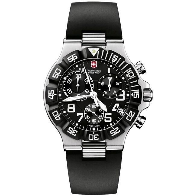 Victorinox Swiss Army Men's Summit XLT Chrono Black Dial Watch