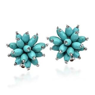 Link to Handmade Chrysanthemum Blast Clip On Earrings (Thailand) Similar Items in Earrings