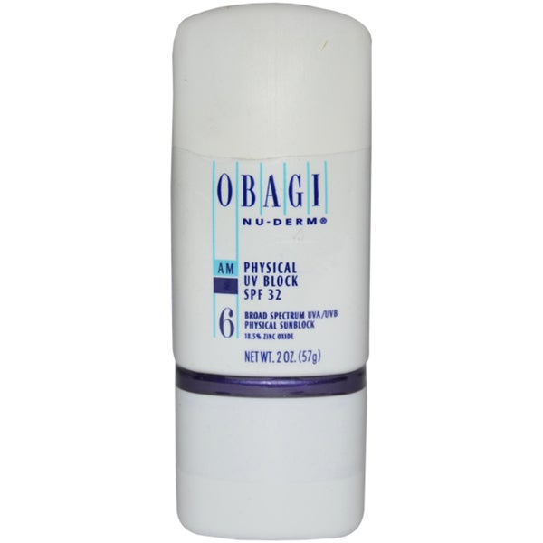 Obagi Nu-Derm Physical SPF 32 UV Block 2-ounce Cream